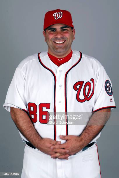 Ali Modami of the Washington Nationals poses during Photo Day on Thursday February 23 2017 at the Ballpark of the Palm Beaches in West Palm Beach...