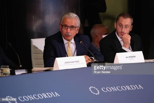 Ali Moshiri Ex Head of Africa Chevron speaks at The 2017 Concordia Annual Summit at Grand Hyatt New York on September 18 2017 in New York City