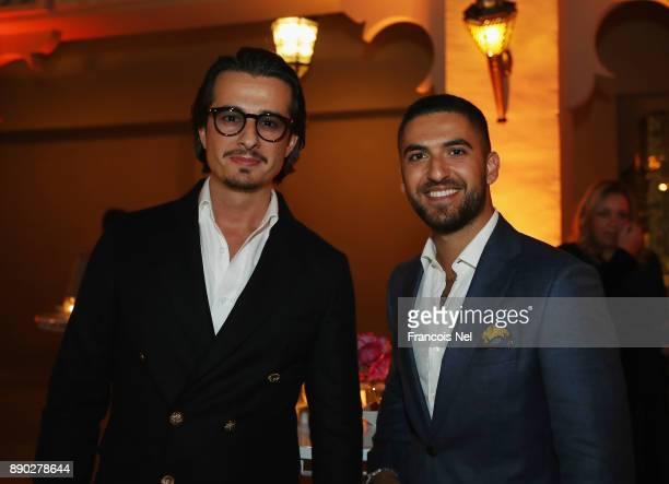 Ali Mostafa and Elias El Indari attend Piaget celebrates Abdullah Al Kaabi's talent by hosting a private screening of his short film 'More Than Love'...