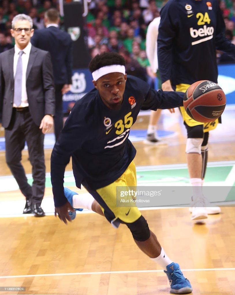 LTU: Zalgiris Kaunas v Fenerbahce Beko Istanbul - EuroLeague Play Offs