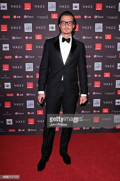 Ali Mustafa attends the Gala Event during the Vogue Fashion Dubai Experience on October 31 2014 in Dubai United Arab Emirates