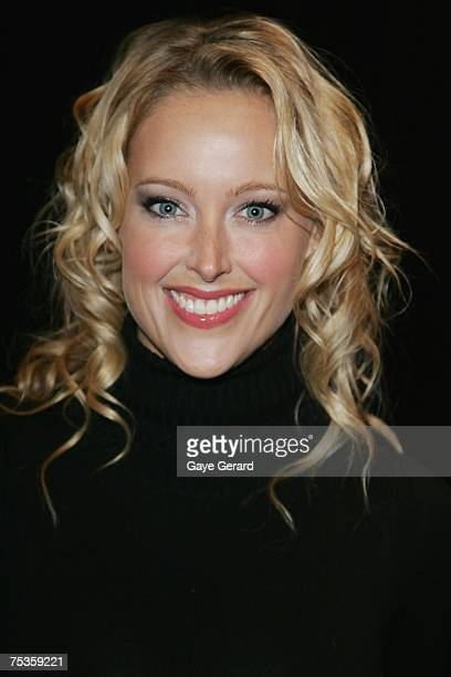 Ali Mutch attends the launch of the new Sony VAIO laptop at Simmer on the Bay on July 11 2007 in Sydney Australia