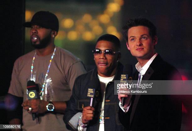 Ali of St Lunatics Nelly and MTV VJ Damien Fahey