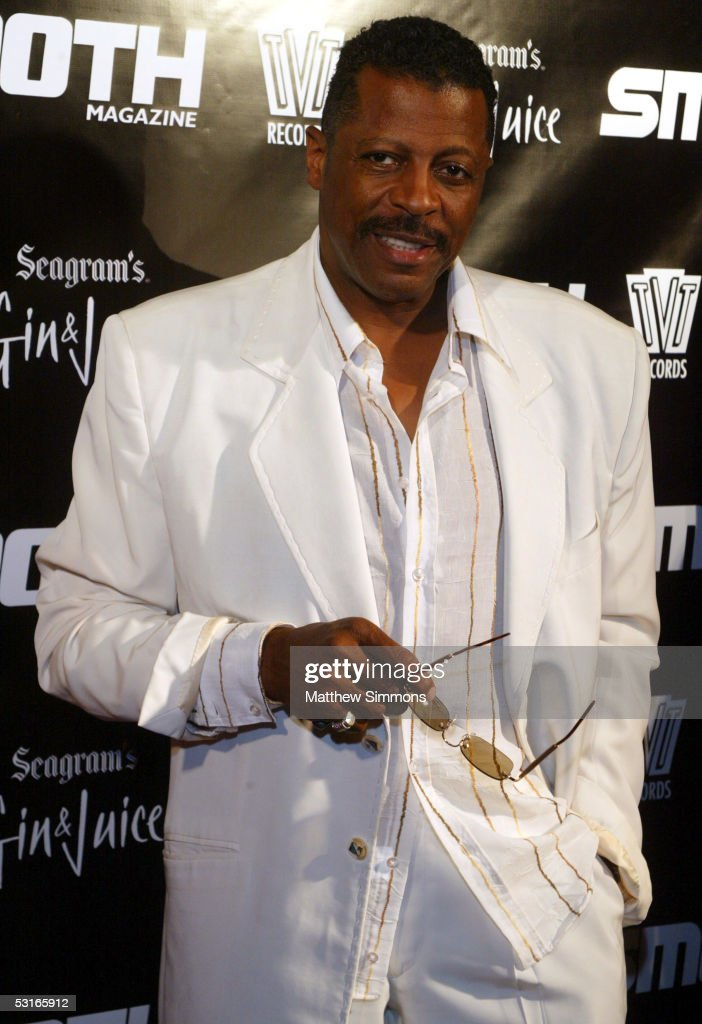 Ali 'Ollie' Woodson of The Temptations arrives to Smooth Magazine's BET Awards After Party on June 28, 2005 at Club Mood in Hollywood, California.