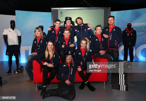 Ali Rob Katie Summerhayes James Machon Jamie Nicholls Emma Lonsdale Ben Kilner Dom Harington Rowan Cheshire Murray Buchan and Euan Baxter of Team GB...