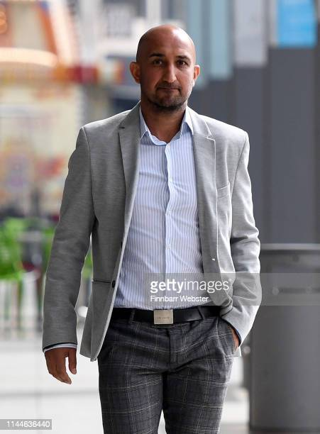Ali Sadjady at the launch of The Independent Group European election campaign at We The Curious on April 23 2019 in Bristol England With a high...