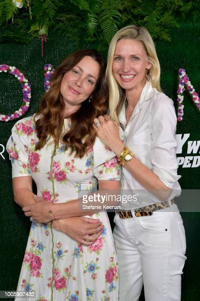 Ali Safran and Catherine McCord attend Adina Reyter Friendship Bracelet Launch at Soho House on July 26 2018 in West Hollywood California