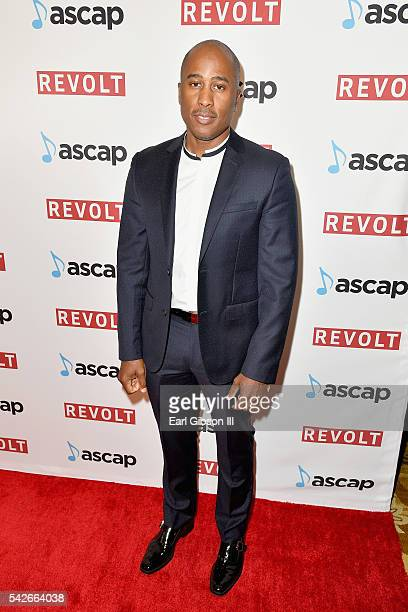 Ali Shaheed Muhammad of A Tribe Called Quest attends the 2016 ASCAP Rhythm Soul Awards at the Beverly Wilshire Four Seasons Hotel on June 23 2016 in...