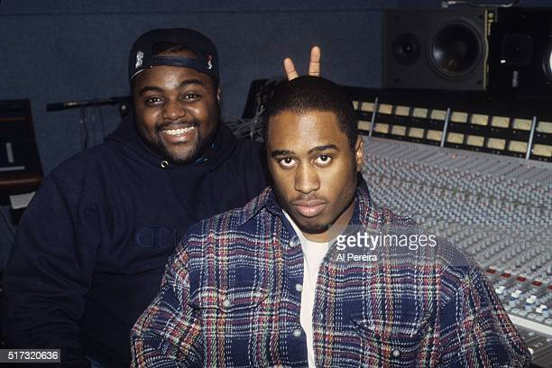 Ali Shaheed Muhammad of the hip hop group 'A Tribe Called Quest' poses in the studio in October 1992 in New York City New York