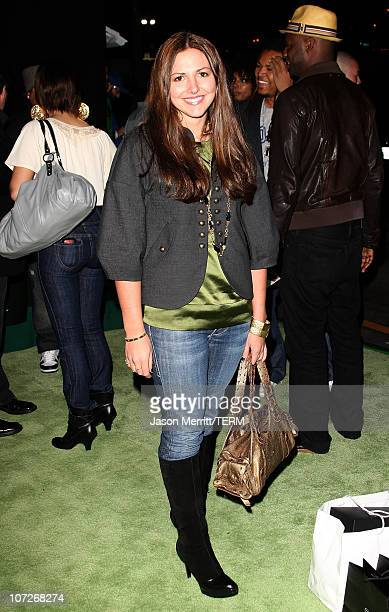 Ali Sims attends the 4th Annual Black Eyed Peas Foundation Benefit Concert held at Avalon Hollywood on February 7 2008 in Hollywood California