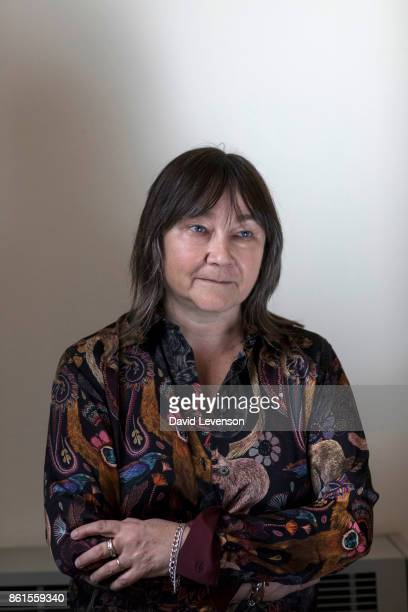 Ali Smith author shortlisted for the 2017 Man Booker Prize during the Cheltenham Literature Festival on October 14 2017 in Cheltenham England