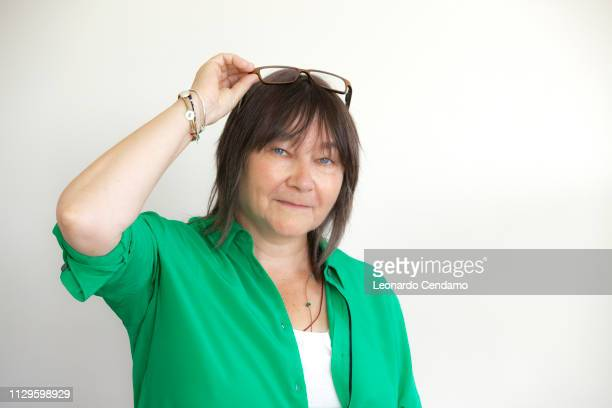 Ali Smith, Scottish writer, Roma, Italy, July 2018.