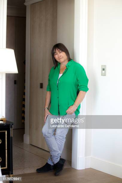 Ali Smith, Scottish writer, Rome-Roma, Italy, July 2018.