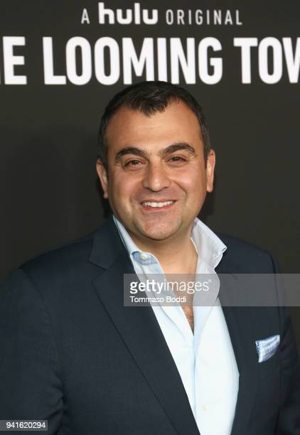 Ali Soufan attends the The Looming Tower FYC screening at the Television Academy on April 3 2018 in Los Angeles California