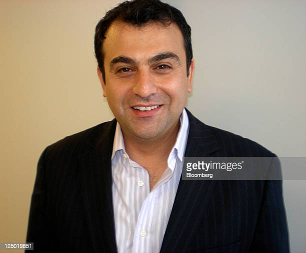 Ali Soufan poses at the offices at his security firm the Soufan Group in New York US on Sept 13 2011 A former FBI agent he's the author of The Black...