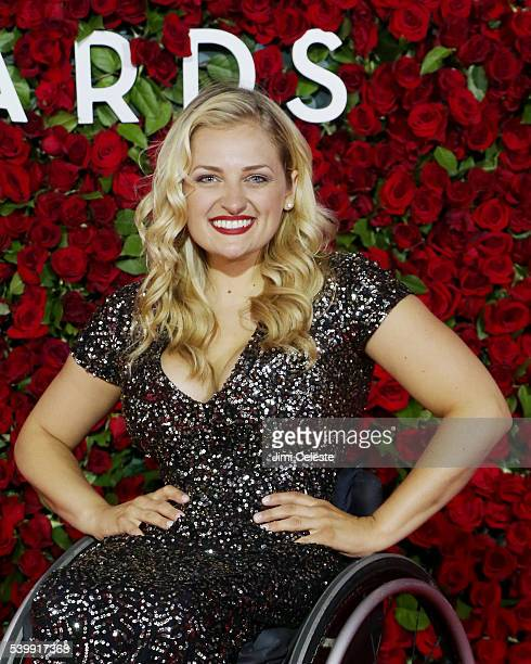 Ali Stroker 2016 Tony Awards Red Carpet at The Beacon Theatre on June 12 2016 in New York City