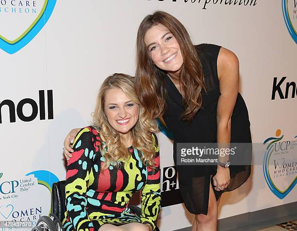 Ali Stroker and Laura Dreyfuss attend 14th Annual Women Who Care Awards Luncheon Benefiting United Cerebral Palsy Of New York City at Cipriani 42nd...