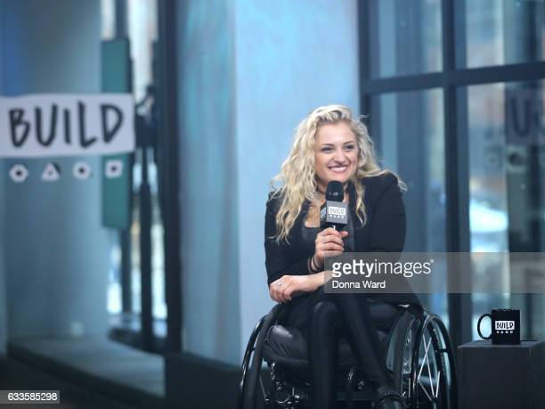 Ali Stroker appears to promote 'Performing With The Pros' during the BUILD Series at Build Studio on February 2 2017 in New York City