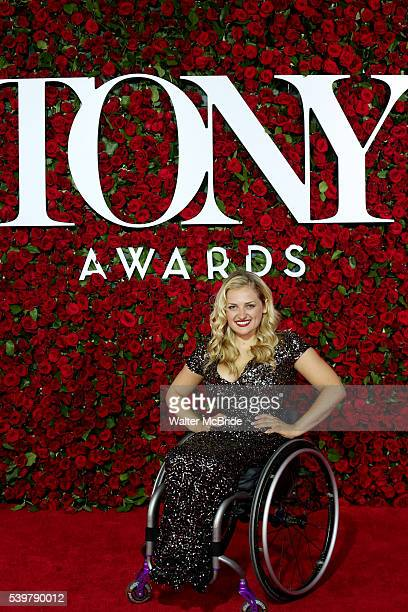 Ali Stroker attends the 70th Annual Tony Awards at the Beacon Theater on June 12 2016 in New York City