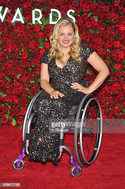 Ali Stroker attends the 70th Annual Tony Awards at the Beacon Theatre on June 12 2016 in New York City