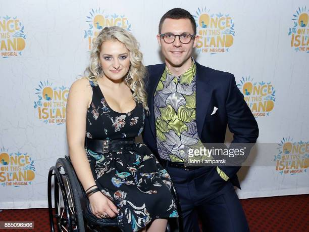 Ali Stroker attneds 'Once On This Island' Broadway opening night at Circle in the Square Theatre on December 3 2017 in New York City