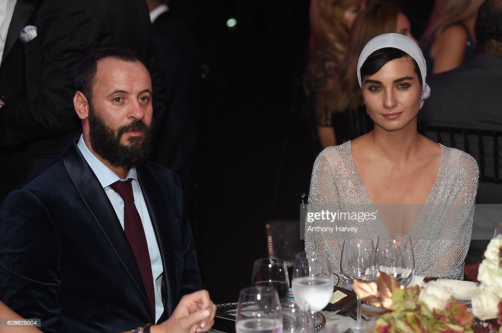 Ali Suliman, actor, and Tuba Buyukustun, Actress and IWC brand ambassador attend the fifth IWC Filmmaker Award gala dinner at the 13th Dubai International Film Festival (DIFF), during which Swiss luxury watch manufacturer IWC Schaffhausen celebrated its long-standing passion for filmmaking at One And Only Royal Mirage on December 8, 2016 in Dubai, United Arab Emirates.