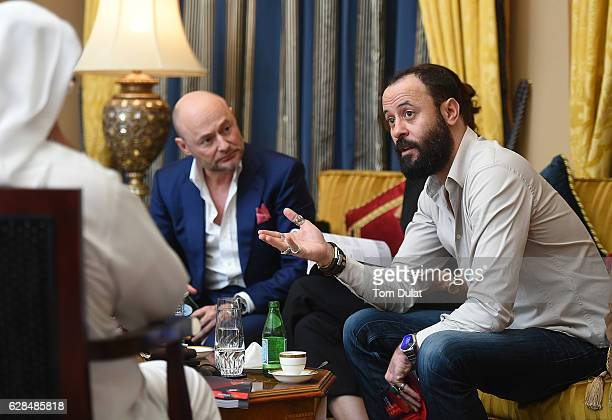 Ali Suliman attends the jury meeting of the fifth IWC Filmmaker Award at the 13th Dubai International Film Festival during which Swiss luxury watch...