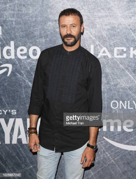 Ali Suliman attends the Los Angeles premiere of 'Tom Clancy's Jack Ryan' at the opening night of Los Angeles Fleet Week 2018 held at Battleship Iowa...