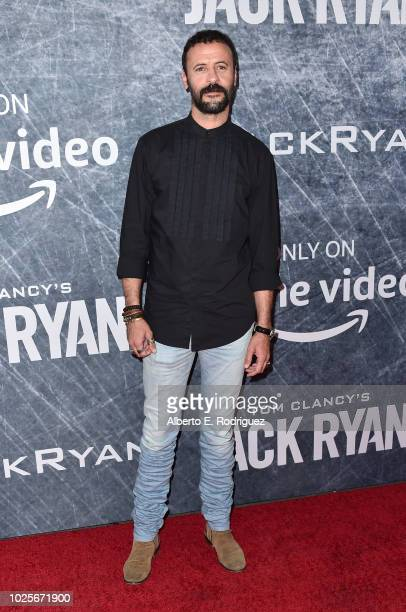 Ali Suliman attends the premiere of Amazon Prime's of 'Tom Clancy's Jack Ryan' at the Battleship Iowa on August 31 2018 in San Pedro California