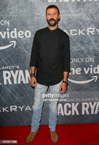 Ali Suliman attends the premiere of 'Tom Clancy's Jack Ryan' at The Opening Night of Los Angeles Fleet Week 2018 at Battleship Iowa on August 31 2018...