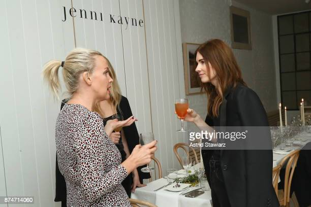 Ali Taekman and Meg Turner attends Dinner to Celebrate Jenni Kaynes Tribeca Boutique with Amy Astley and Meredith Melling at 20 Harrison Street on...