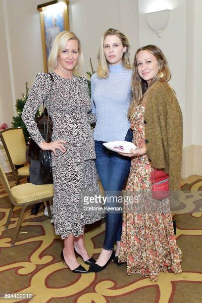 Ali Taekman Sara Foster and Jennifer Meyer attends The Baby2Baby Holiday Party Presented By Toys'R'Us At Montage Beverly Hills at Montage Beverly...