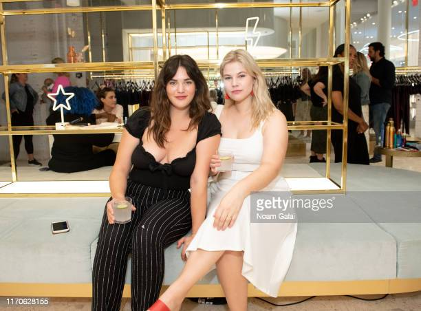 Ali Tate Cutler and Melissa Koole attend the Beyond Yoga x Amanda Kloots Collaboration Launch Event on August 27 2019 in New York City