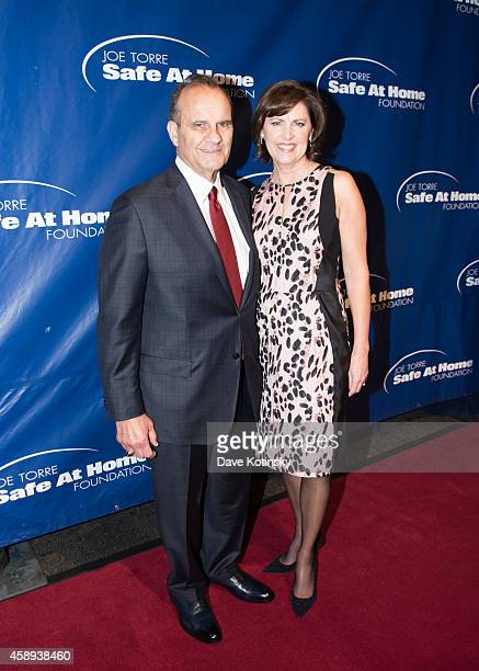 Ali Torre and Joe Torre attend the Joe Torre Safe At Home Foundation's 12th Annual Celebrity Gala at Pier Sixty at Chelsea Piers on November 13 2014...