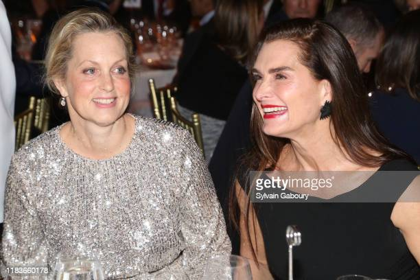 Ali Wentworth and Brooke Shields attend Child Mind Institute 2019 Child Advocacy Award Dinner at Cipriani 42nd Street on November 19 2019 in New York...