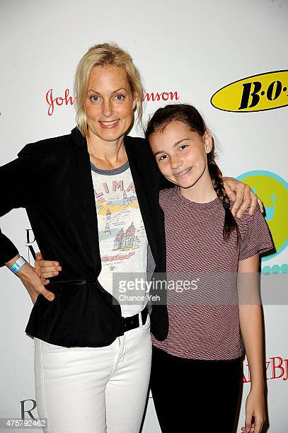Ali Wentworth and Elliott Anastasia Stephanopoulos attend 2015 Baby Buggy Bedtime Bash at Victorian Gardens at Wollman Rink Central Park on June 3...