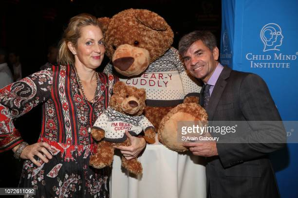 Ali Wentworth and George Stephanopoulos attend Child Mind Institute 2018 Child Advocacy Award Dinner at Cipriani 42nd Street on November 19 2018 in...