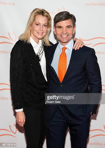 Ali Wentworth and George Stephanopoulos attend the Michael J Fox Foundation's A Funny Thing Happened On The Way To Cure Parkinson's Gala at The...