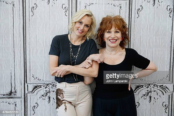 Ali Wentworth and Joy Behar discuss Ali Wentworth's new book Happily Ali After during AOL BUILD Speaker Series at AOL Studios In New York on June 9...