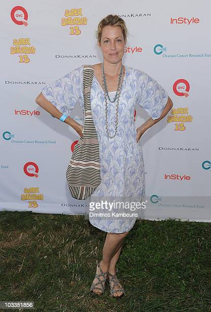 Ali Wentworth attends Super Saturday 13 to Benefit Ovarian Cancer Research Fund hosted by InStyle Magazine at Nova's Ark Project on July 31 2010 in...