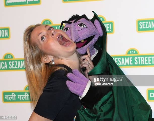 Ali Wentworth attends the 12th annual Sesame Workshop Benefit Gala at Cipriani 42nd Street on May 28 2014 in New York City