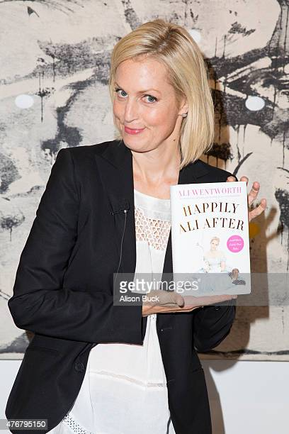 Ali Wentworth attends the discussion of her new book Happily Ali After at Bergamot Station on June 11 2015 in Santa Monica California