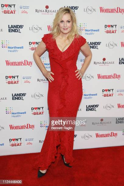Ali Wentworth attends Woman's Day Celebrates 16th Annual Red Dress Awards on February 12 2019 in New York City