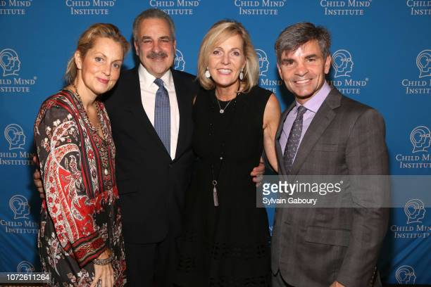 Ali Wentworth Dr Harold Koplewicz Linnea Roberts and George Stephanopoulos attend Child Mind Institute 2018 Child Advocacy Award Dinner at Cipriani...