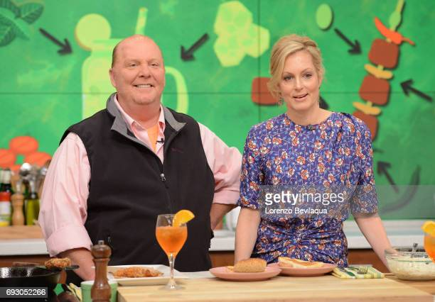 THE CHEW Ali Wentworth is a guest on The Chew Tuesday June 6 2017 The Chew airs MONDAY FRIDAY on the Walt Disney Television via Getty Images...