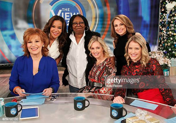THE VIEW Ali Wentworth is the guest today Tuesday December 13 2016 on Walt Disney Television via Getty Images's The View The View airs MondayFriday...