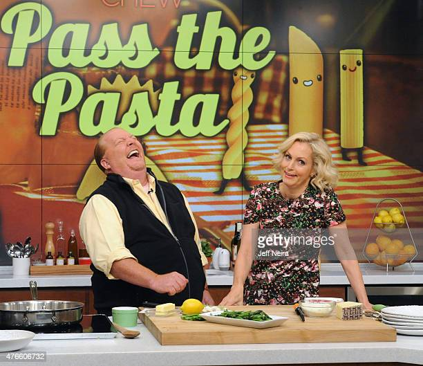 THE CHEW Ali Wentworth is the guest today Wednesday June 10 2015 on ABC's 'The Chew' 'The Chew' airs MONDAY FRIDAY on the ABC Television Network