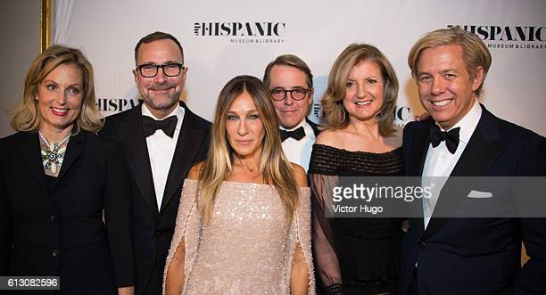 Ali Wentworth James Costos Sarah Jessica Parker Matthew Broderick Arianna Huffington and Michael Smith attend The Hispanic Society Museum and Library...