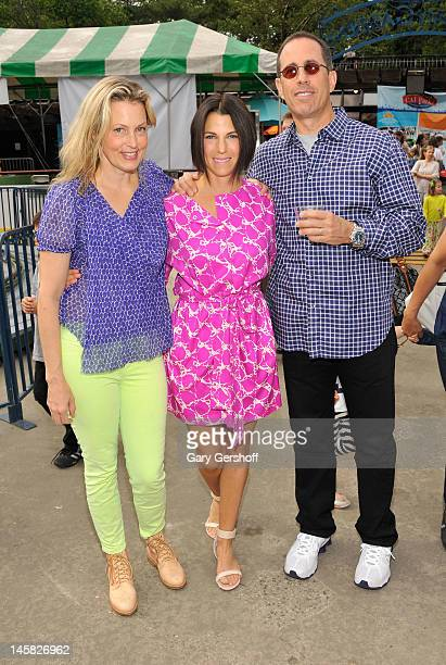 Ali Wentworth Jessica Seinfeld and Jerry Seinfeld attend the 2012 Baby Buggy Bedtime Bash hosted by Jessica nd Jerry Seinfeld on June 6 2012 in New...