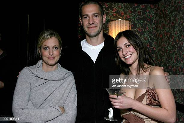 Ali Wentworth Mike Rosenthal and Wendy Rosenthal during Head Case Season Premiere Party in Los Angeles at Private Residence in Los Angeles California...
